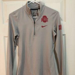 Nike pro Ohio State quarter zip